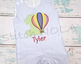 Hot Air Balloon Birthday Shortall
