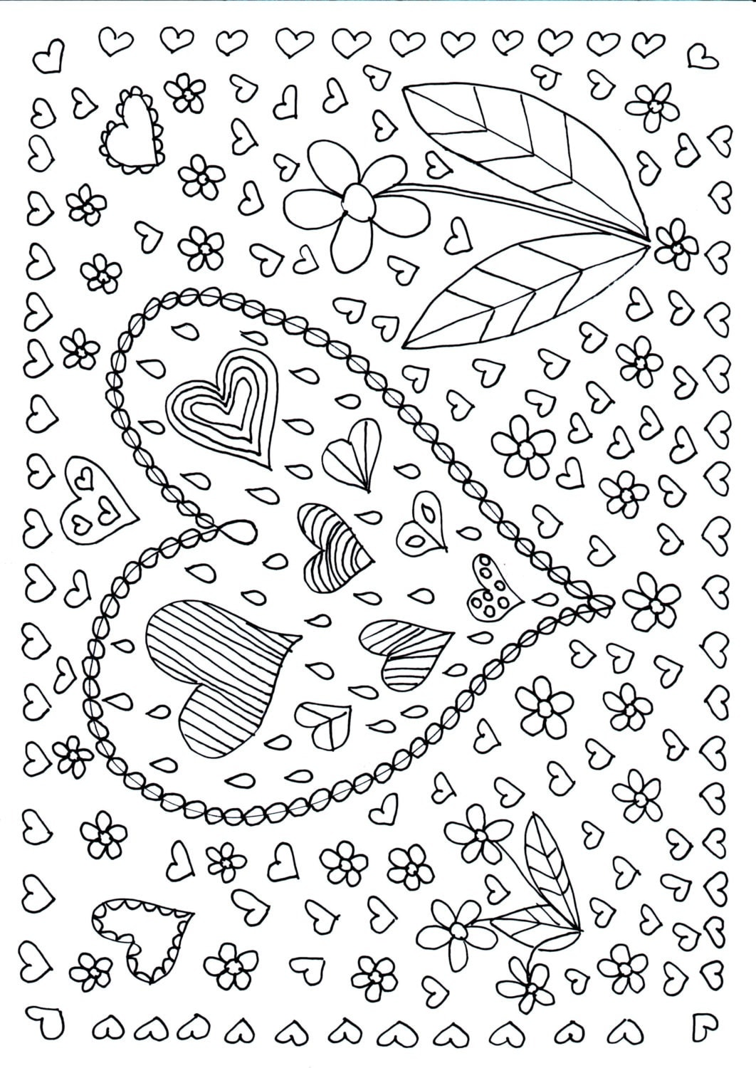 art therapy coloring pages pdf images