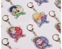 Digimon Tamers acrylic key chains
