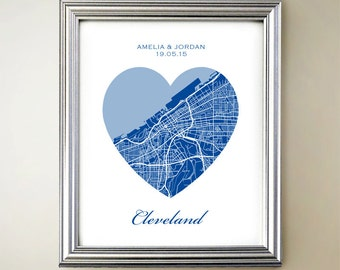 Cleveland Heart Map