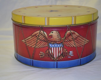 Eagle Tin Can Drum