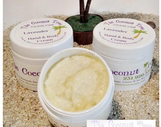 Peppermint Body Cream / 2oz Jar / Coconut Oil / Olive Oil / Shea Butter / Cocoa Butter / Aloe Vera / Peppermint Lotion
