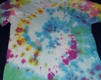 Mulit Color Adult Tie Dye T Shirt
