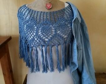 Heated shoulders single model crochet