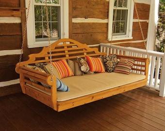 Red Cedar Marlboro 4ft. Hanging Swing Bed