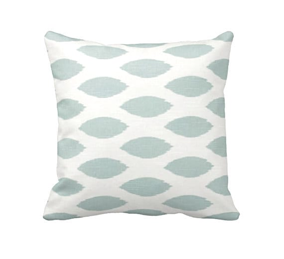 Light Blue Throw Pillow Covers : Blue Throw Pillow Covers Light Blue Pillow Covers Decorative