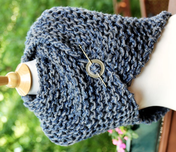 Knitting Pattern For Outlander Shawl : Outlander Shawl Hand Knit Outlander Inspired by KnitPlayLove
