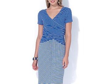 McCall's Pattern M7319 Misses' Gathered Waist Dresses