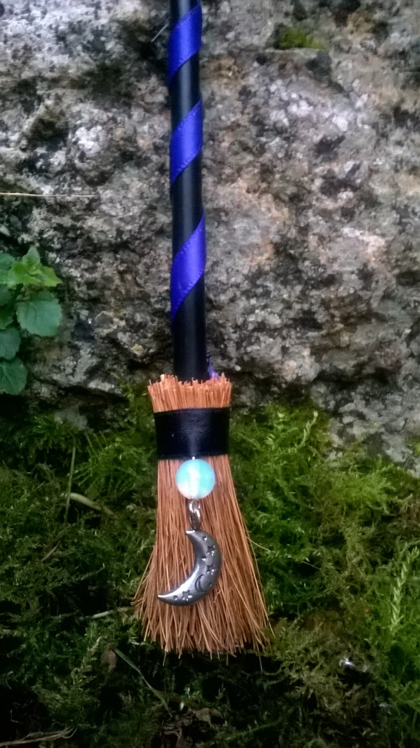 Besom Mystic Moon Altar Broom Mini Broomstick Witch