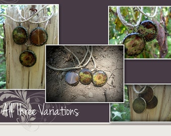 Real Leaf Art Necklace**Sold Separately**
