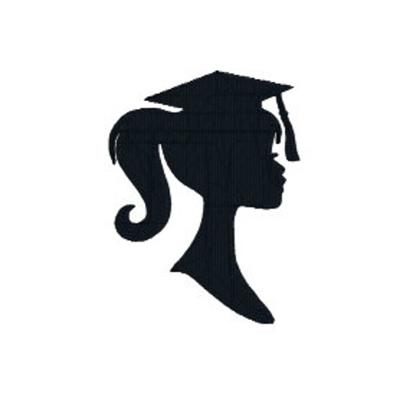 BUY 2 GET 1 FREE Girl Graduation Silhouette Machine By
