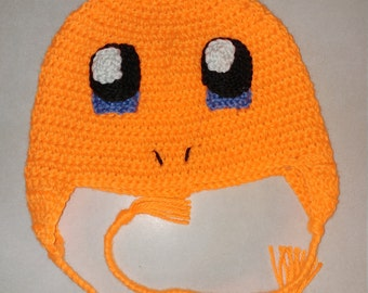 Charmander Hat Any size available