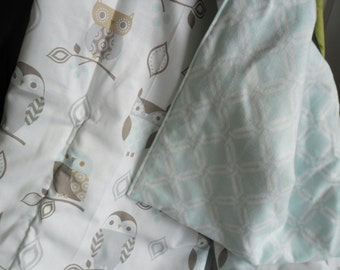 Baby Quillow/Car Blanket/Stroller Blanket/Play Blanket-