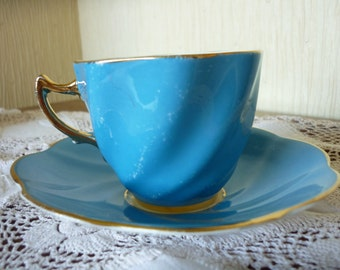 Vintage Rosina Bone China Cup and Saucer set,  China cup and saucer set. Two available.