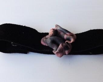Magic - suede bracelet