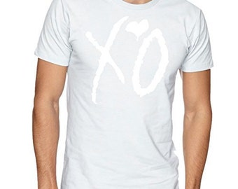 "The Weeknd ""XO"" Whiteout Men's T-shirt"
