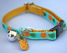 Pineapple Cat Collar