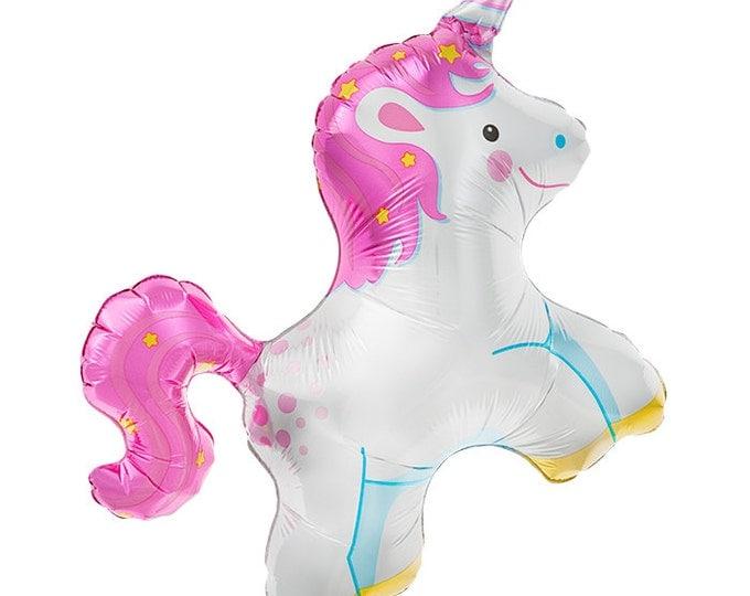 Unicorn Balloon, Unicorn, Horse, Princess Birthday Party Balloon, Unicorn Balloons, Magical Party, Rainbow Party