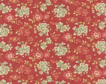 Moda fabric 3 Sisters Larkspur 44104-16...Sold in continuous  cut 1/2 yard increments