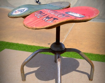 Skateboard Shop Stool