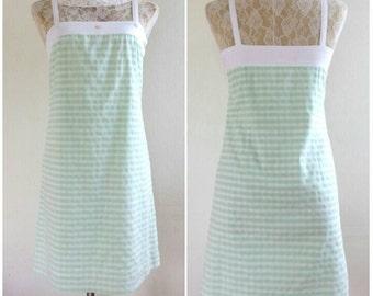 Vintage Courreges cotton Sun dress Size 36 XS