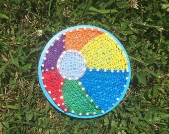 Little Beach Ball String Art