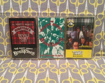 Devil's Night Out by The Mighty Mighty Bosstones Cassette Tape 3 Tape Lot Don't Know How to Party, More Noise Vintage ska punk