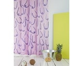 "shower curtain ""Summer of Fun"" by bermuda x Kottie Paloma"