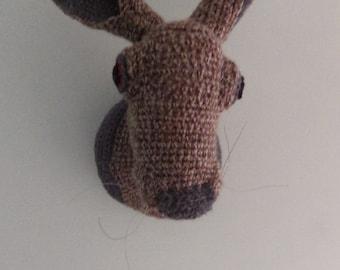 Harry the Hare Crochet Wall Decoration