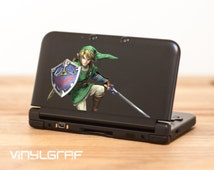 Link Legend of Zelda decal sticker for nintendo 3ds xl, iPhone, iPad, macbook ma306