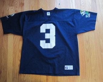 Vintage 80s Joe Montana Notre Dame Football Jersey #3 Logo 7