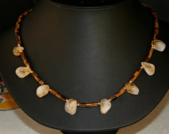 Tiger Eye Necklace # 675M