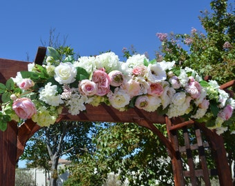 Wedding Arch, Hydrangea Arch, Wedding Arbor arch, White Arch, Wedding Chuppah flowers