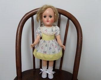 """Ideal Toni Doll 14"""" P-90 W 1950's"""