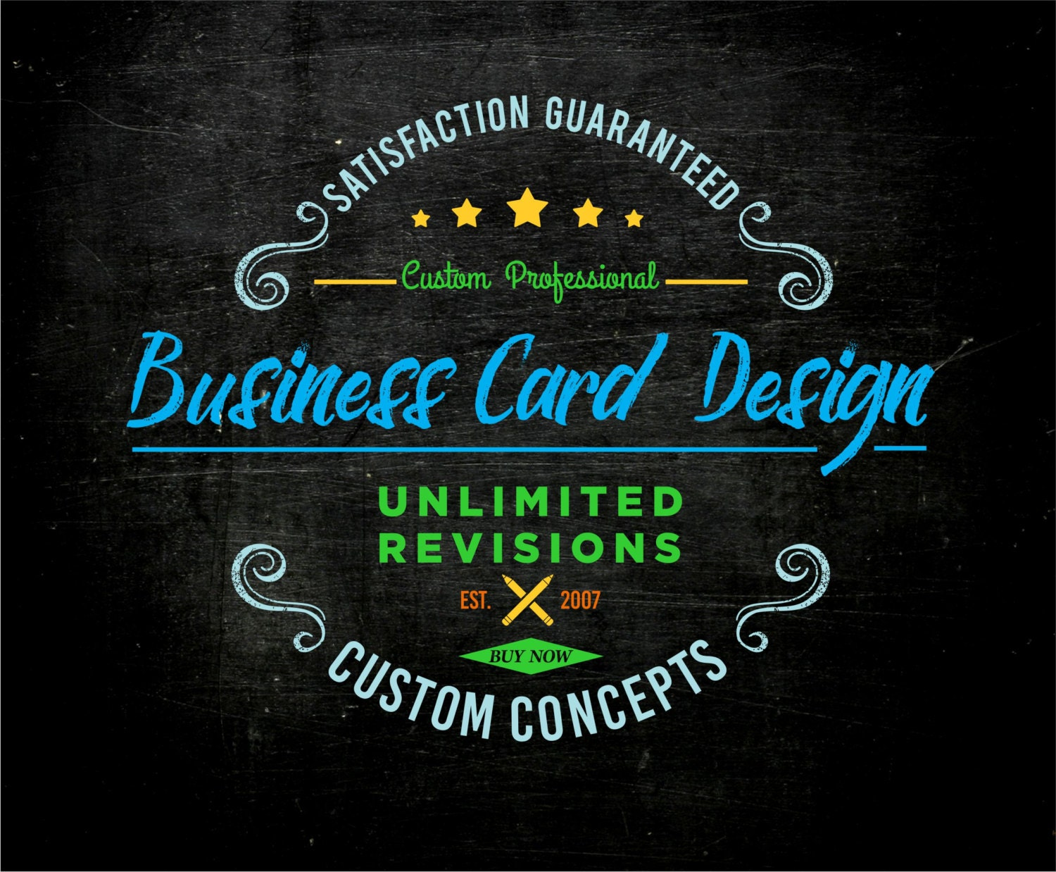 Business card design custom design business card single side request a custom order and have something made just for you magicingreecefo Gallery
