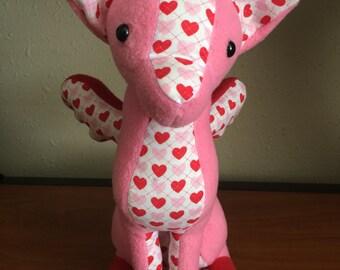 Valentine's Hearts Sitting Dreamer