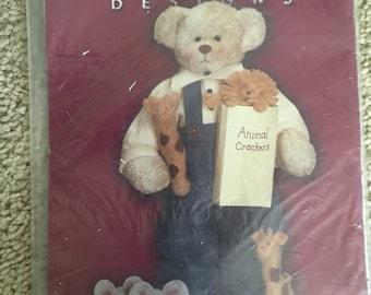 Teddy bear with puppy pattern