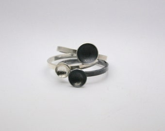 Sterling Silver Ring - Handmade