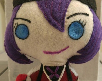 Pokemon Go Your Trainer Custom 8 Inch Felt Hand Sewn Doll- Made to Order