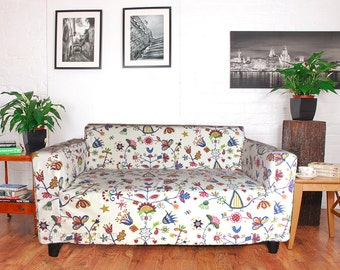 Slip cover for the Ikea Klobo sofa in choice of 5 stunning cotton fabrics