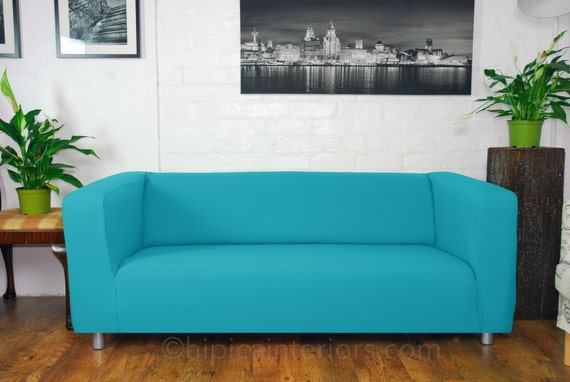 Ikea Klippan 4 Seat Sofa Waterproof Slip Cover By