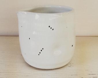 Porcelain Constellation Creamer