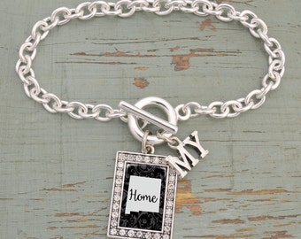 My Home New Mexico Toggle Bracelet - 57584NM