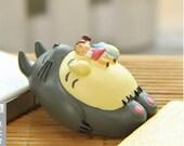 My Neighbor Totoro Studio Ghibli Resin Miniature Vinyl toy Figure miniature terrarium, pendant, phone charm, Fairy Garden DIY craft supply