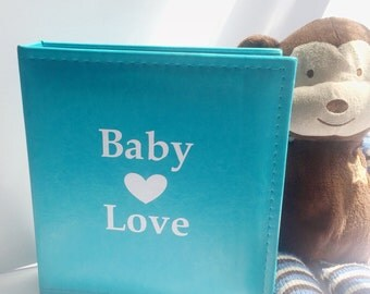Personalized Baby Scrapbook Album - Baby Book - Keepsake Album - Personalized Baby Gift