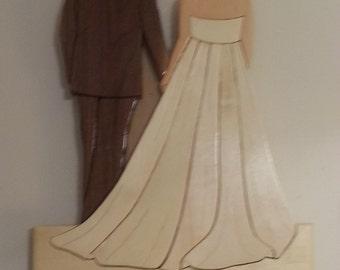 Intarsia Wedding, custom made