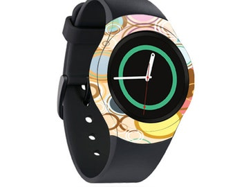 Skin Decal Wrap for Samsung Gear S2, S2 3G, Live, Neo S Smart Watch, Galaxy Gear Fit cover sticker Bubble Gum