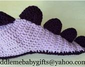 Baby Girl Baby Dinosaur Baby Crochet Baby Dinosaur Hat Baby Shower Gift Baby Photo Prop Hat