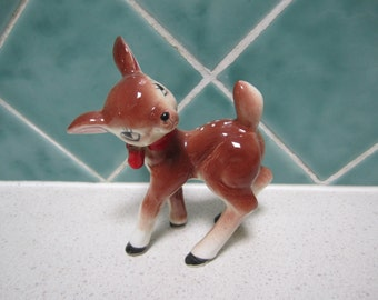 Cute 1950's Ceramic Deer - Bambi