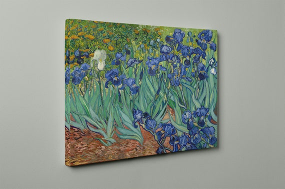 Irises | Vincent van Gogh  Mirror Wrapped Canvas